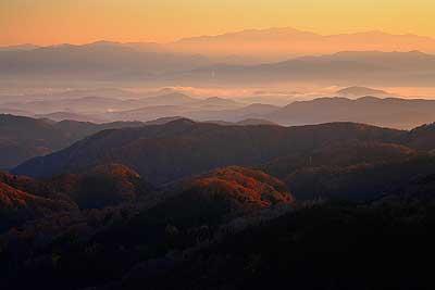 花立峠からの白山